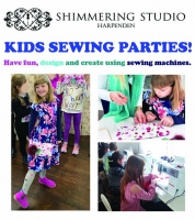 Kids Sewing Party - using sewing machines  Up to 10 Children from age 8-13