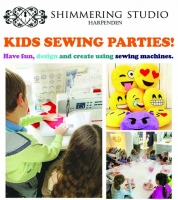 Kids Sewing Party - using sewing machines. Up to 10 Children from age 8-13